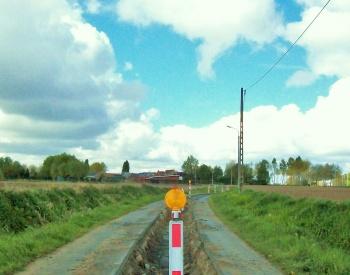 sleuf Hazewindstraat